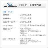 TM-SQUARE SPORT ECU ZC31S用 1型 SPORT ECU Ver.4の画像