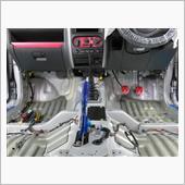 2018ジムニーJB23コンプリートカーのデッドニングその2の画像
