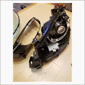 ヘッドライトウインカーLED製作とシーケンシャルウインカー取り付け
