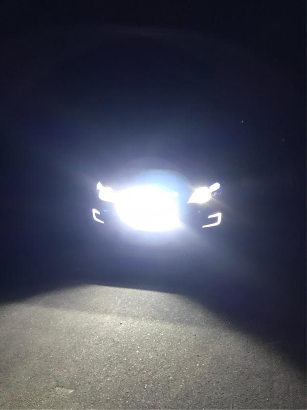 LED作業灯取付け