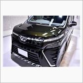 3列シートワゴン、トヨタ・ヴォクシーのガラスコーティング【リボルト姫路】の画像