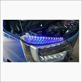 LED ネオンチューブライト 交換の画像