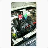 38516mile エンジンオイル、エレメント交換 plus91注入