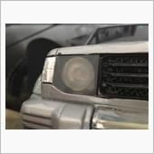 cc01パジェロ ヘッドライトカバー作成の画像