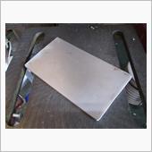 ブレーキペダルカバー製作の画像