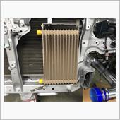 HPI汎用オイルクーラー エレメント移動タイプ取り付けの画像