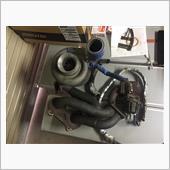 エンジンOHに挑戦⑦(T78ターボとプーリー取付)の画像