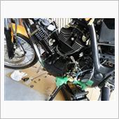 エンジン搭載の画像
