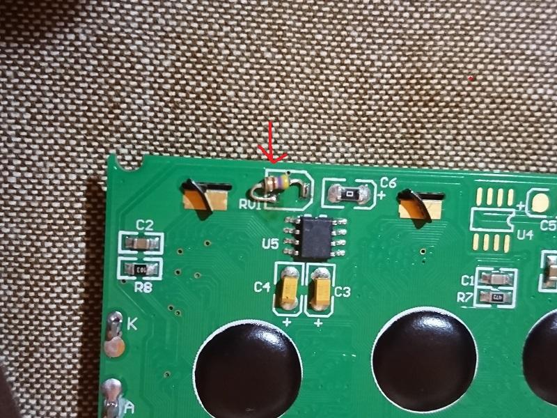 FCコマンダー液晶交換1