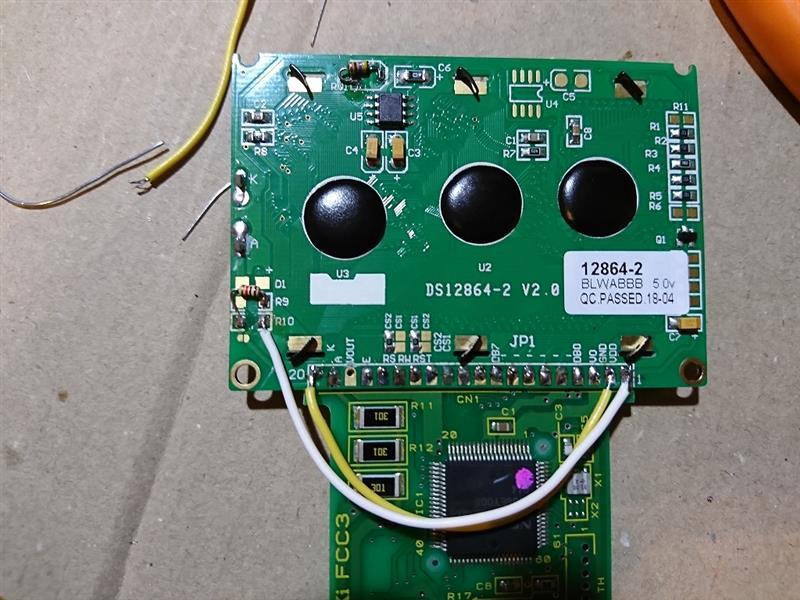 FCコマンダー 修理2 バックライト対策