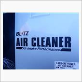 BLITZカーボンパワーエアクリーナーの画像