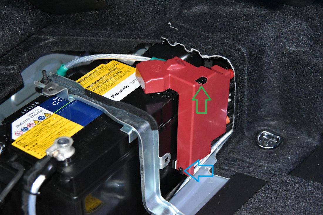 補機バッテリー交換(GWS204)