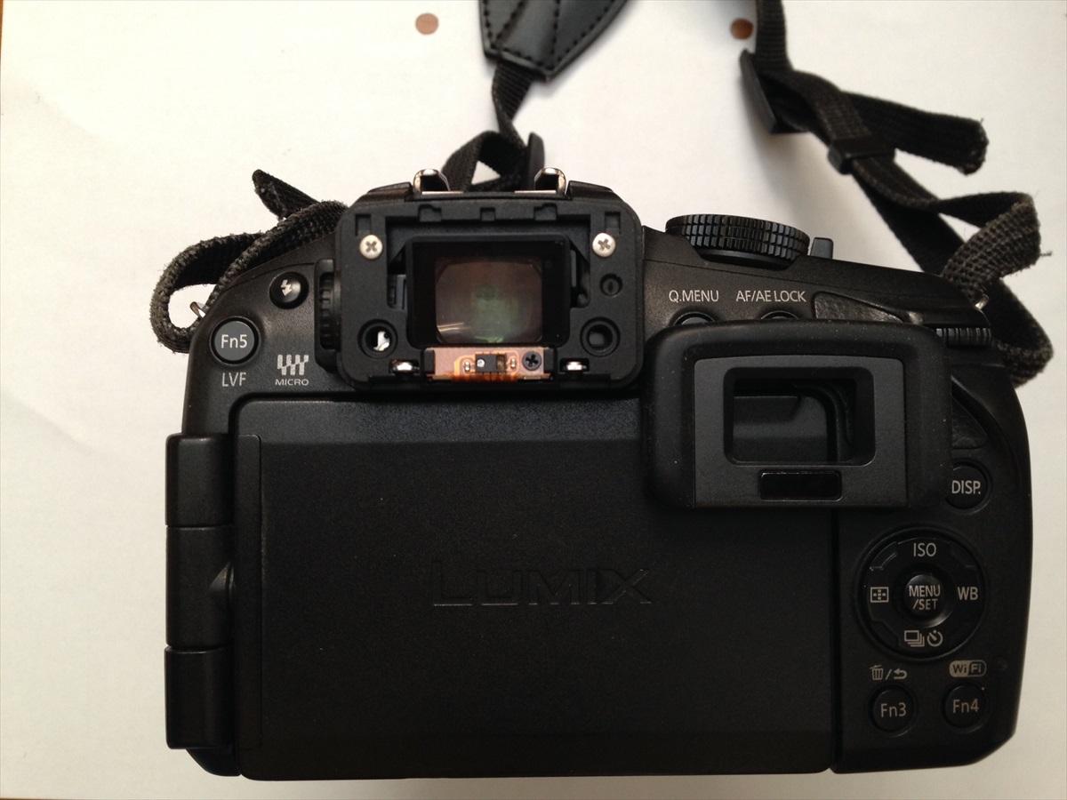 パナソニック「LUMIX DMC-G6」分解調整