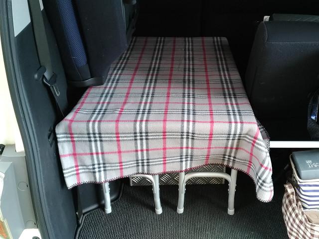 荷室棚、簡易製作!