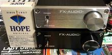 FXAUDIO FX 98 取り付け