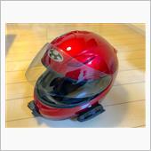 ヘルメットバイザー交換