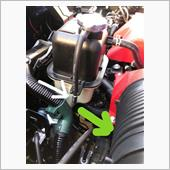 冷却水トラップ排水用ゴムチューブ交換の画像