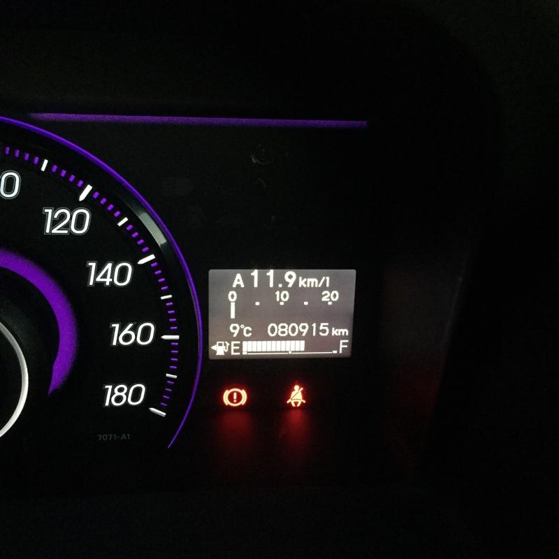 エンジンオイル交換 80,915km