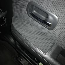 運転席側スイッチパネルガード再作成 其の壱