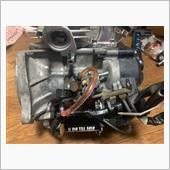 スーパーDIO-ZX(AF28)エンジン載せ替え