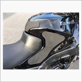 【ZZ-R】自作タンクパッド装着の画像