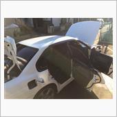 レガシィシャンプー洗車の画像