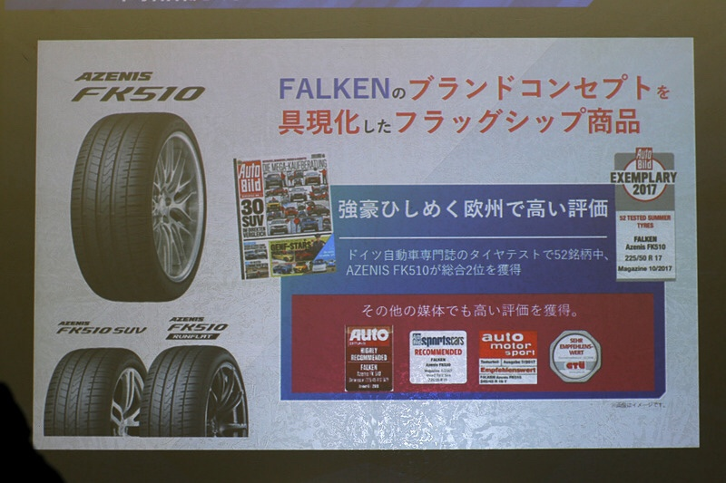 LM-Rに新品タイヤAZENIS FK510組込み!