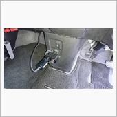 [ワゴンRMH55Rリヤ席に電気シートヒーター取付け+リヤサブフレーム、シャシブラ吹き付け]No.1の画像