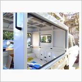 サービスボディー製作43 リアドアウエザーストリップ・パネル溶接仕上げ(副戸)の画像