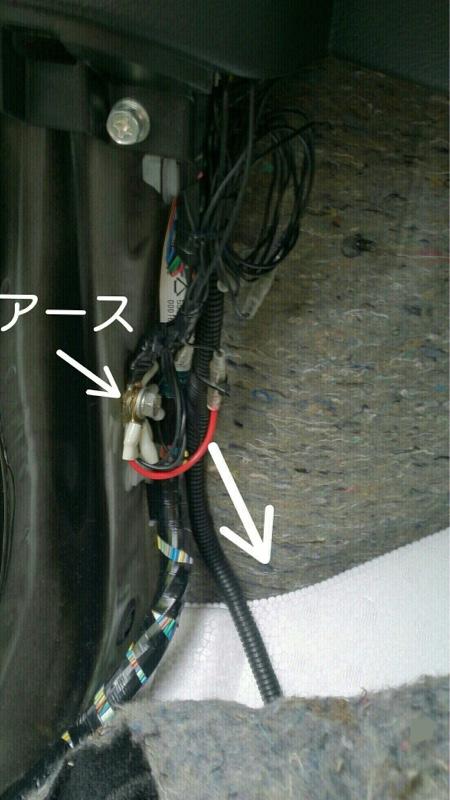 運転席USB電源 取り付け