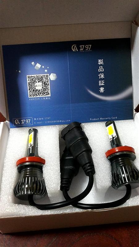 LEDフォグランプ H8 H11 H16 イエロー ホワイト 2色 フォグランプ交換