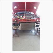 三菱GTO ラジエータキャップの交換です。