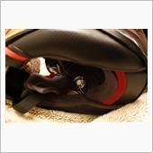 ヘルメットスピーカー交換