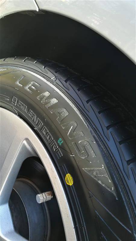 タイヤ交換(3)