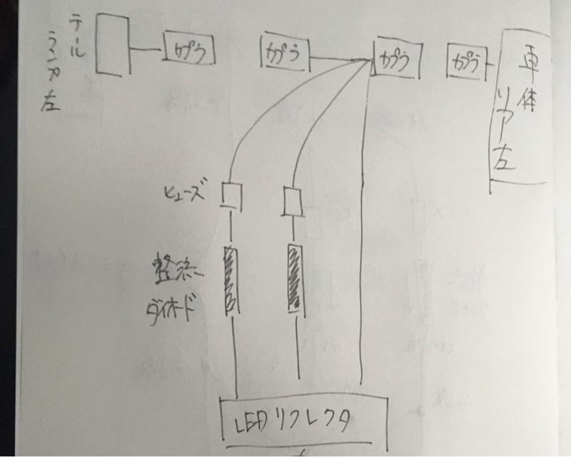 LEDリフレクター 準備②