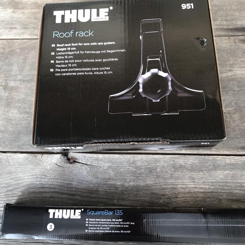 THULE ベースキャリア取付