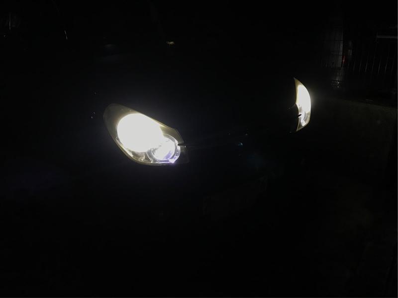 LEDヘッドライト球交換