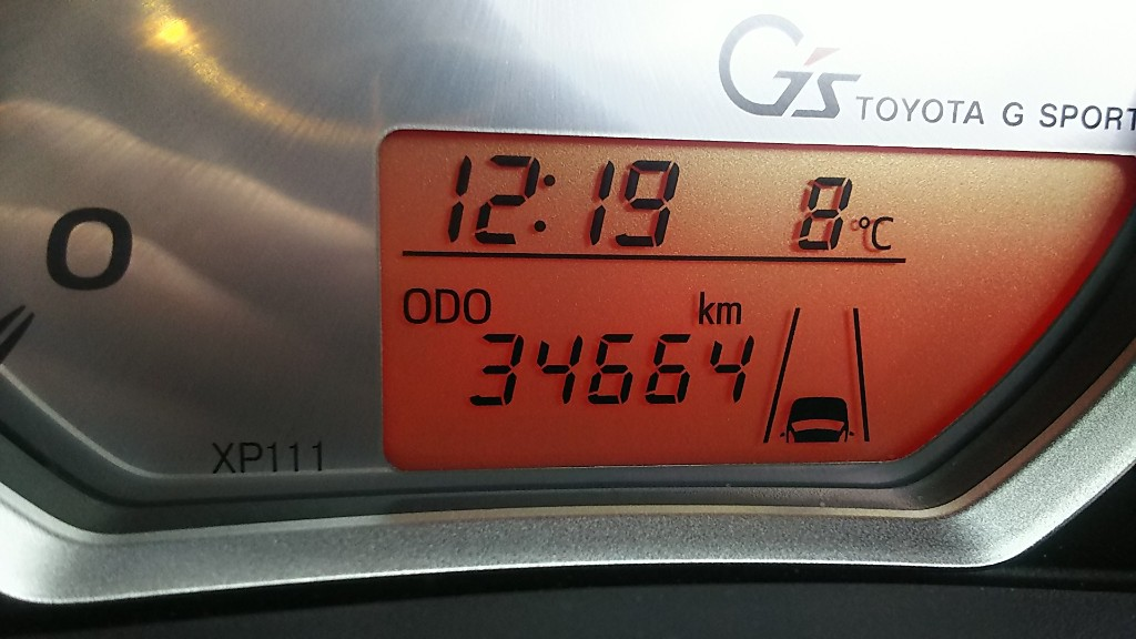 34664km 下廻り洗車