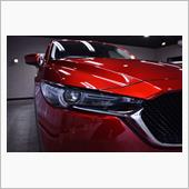 【SUV車おすすめ】樹脂パーツ保護  マツダCX-5のガラスコーティング【リボルト千葉】