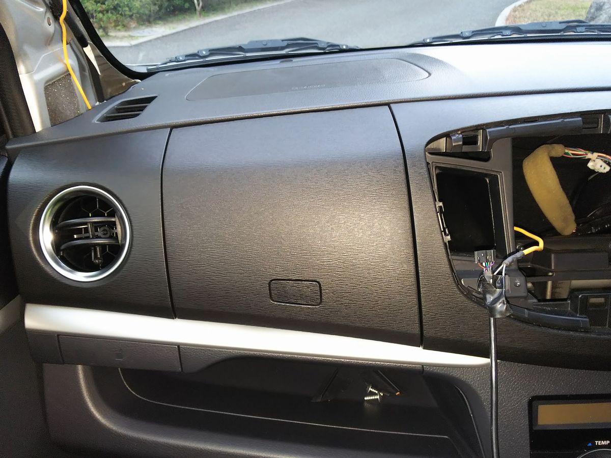 【備忘録】ドライブレコーダー取り付け