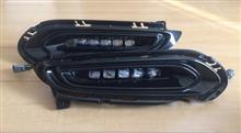 5連LEDフォグランプ(CR-V用レプリカ)取付け前の点灯確認試験
