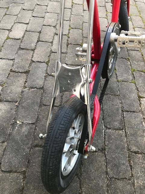 自転車だけどナンバーをつける