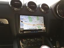 TT RS 8インチナビ装着のカスタム手順1