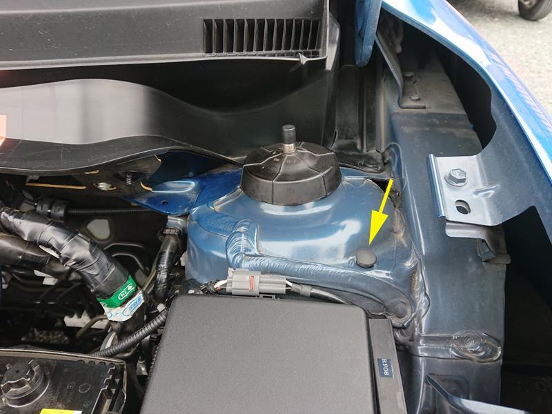 CUSCO ストラットタワーバー タイプOS 取り付け 1