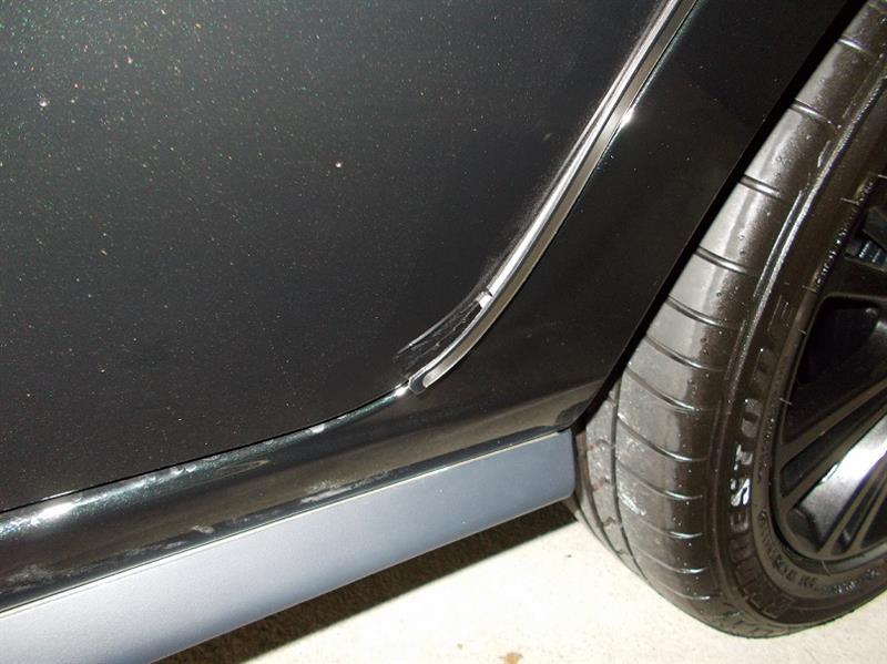 新車1か月無料点検&ドアエッジモールが剝がれ直し