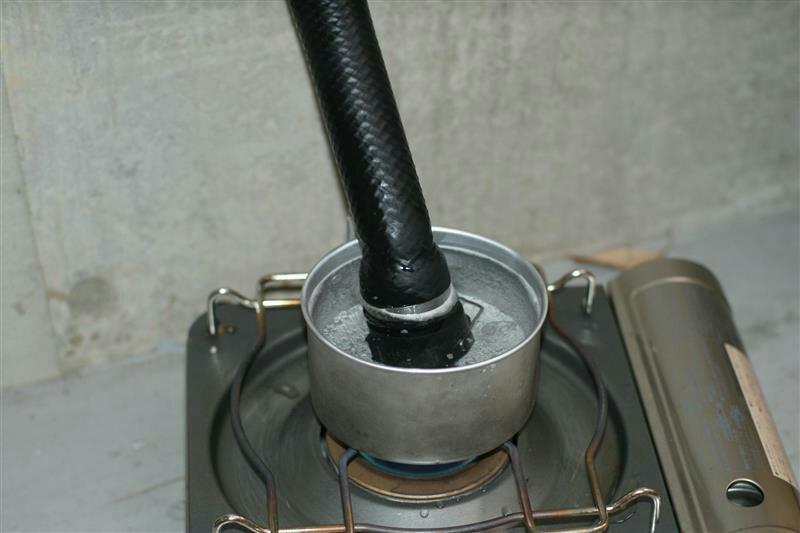 ラジエーターと関連ホース3本の交換