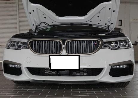 BMW5 G30用 スターケン リップスポイラー取付