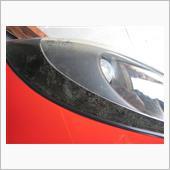 ヘッドライトカバー修理