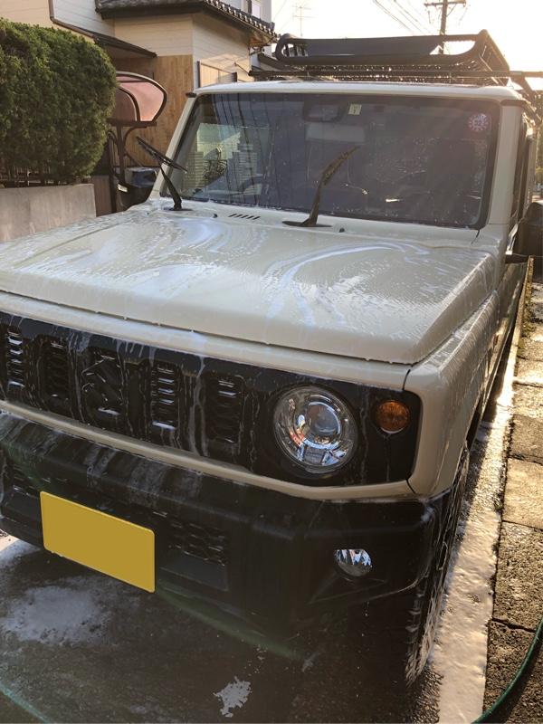 ガッツリ洗車