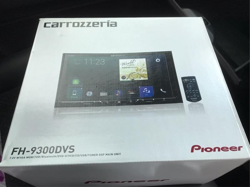 P01からFH-9300DVSへ